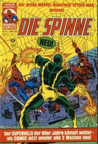 Cover for Die Spinne (Condor, 1980 series) #13