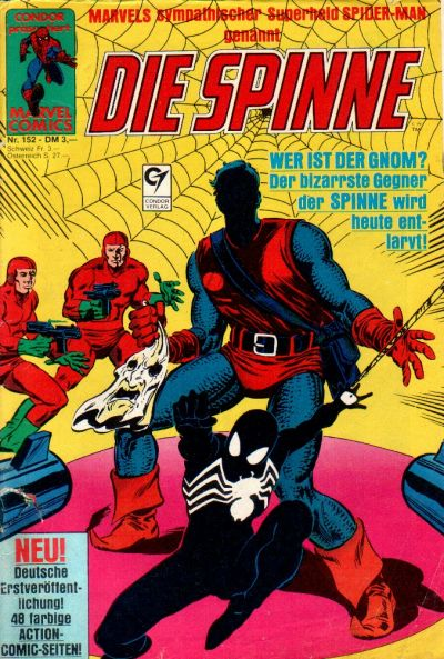 Cover for Die Spinne (Condor, 1980 series) #152