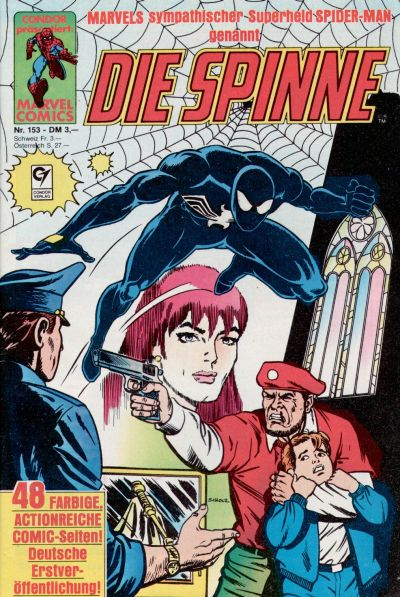 Cover for Die Spinne (Condor, 1980 series) #153