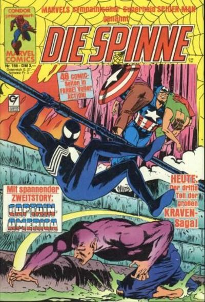 Cover for Die Spinne (Condor, 1980 series) #156