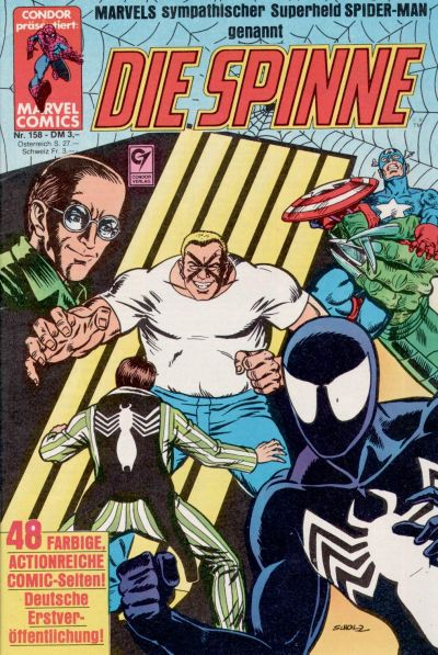Cover for Die Spinne (Condor, 1980 series) #158