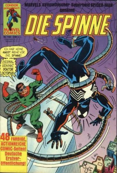 Cover for Die Spinne (Condor, 1980 series) #160