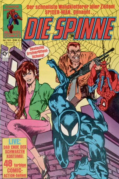 Cover for Die Spinne (Condor, 1980 series) #163