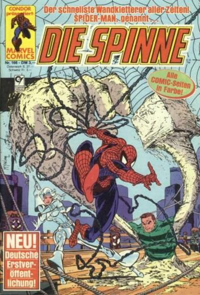 Cover for Die Spinne (Condor, 1980 series) #166
