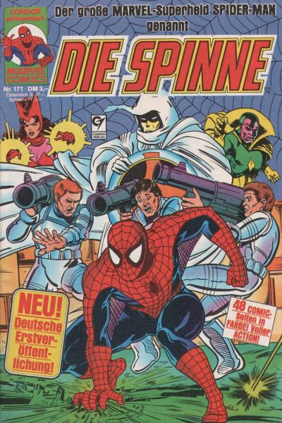 Cover for Die Spinne (Condor, 1980 series) #171