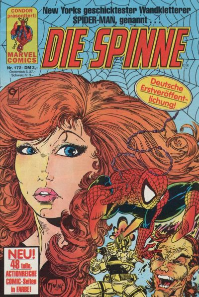 Cover for Die Spinne (Condor, 1980 series) #172