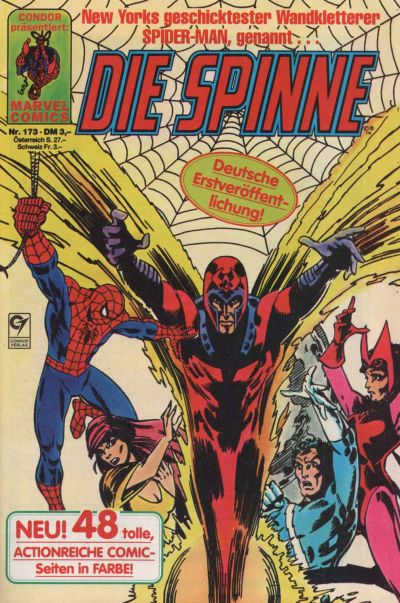 Cover for Die Spinne (Condor, 1980 series) #173