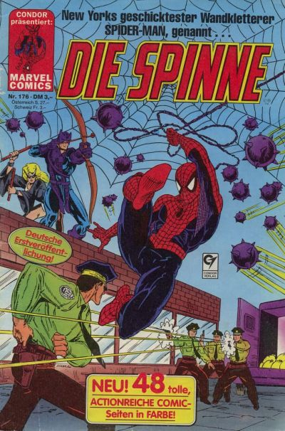 Cover for Die Spinne (Condor, 1980 series) #176