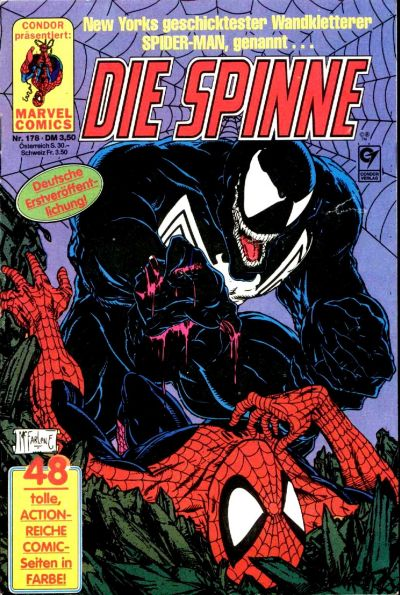Cover for Die Spinne (Condor, 1980 series) #178