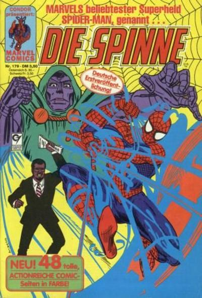 Cover for Die Spinne (Condor, 1980 series) #179