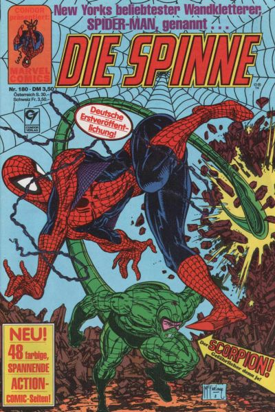 Cover for Die Spinne (Condor, 1980 series) #180