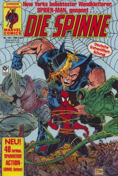 Cover for Die Spinne (Condor, 1980 series) #181