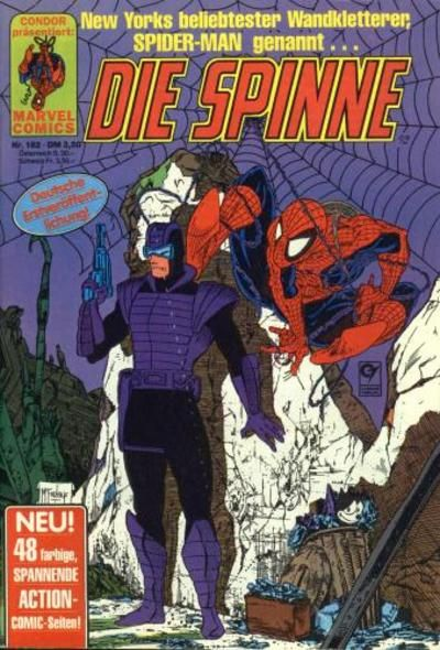Cover for Die Spinne (Condor, 1980 series) #182