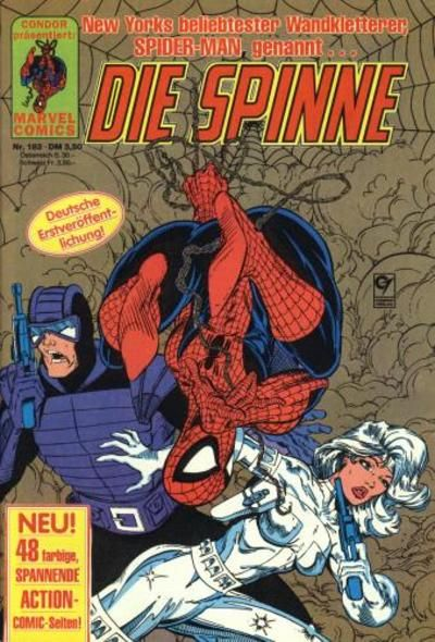 Cover for Die Spinne (Condor, 1980 series) #183