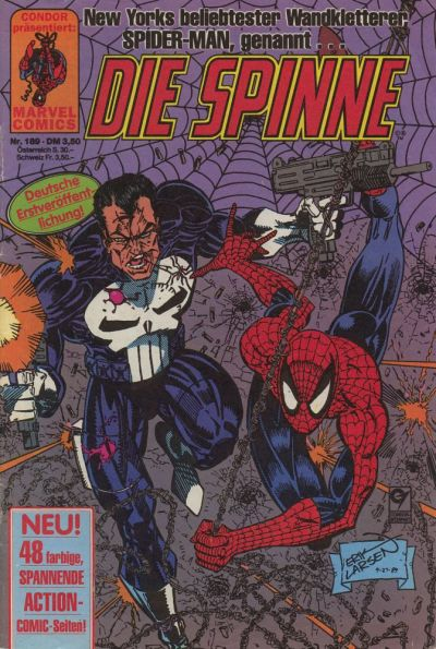 Cover for Die Spinne (Condor, 1980 series) #189