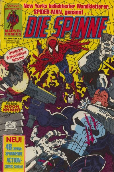 Cover for Die Spinne (Condor, 1980 series) #190