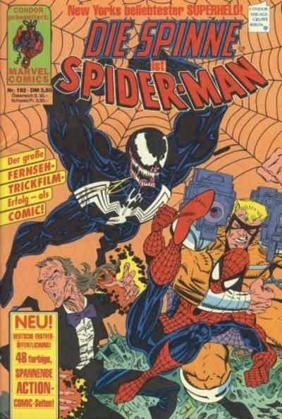 Cover for Die Spinne (Condor, 1980 series) #192