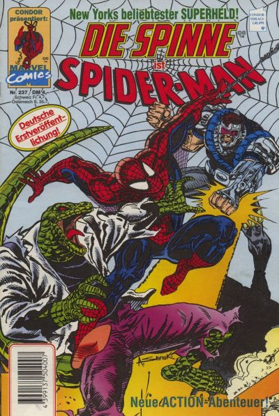 Cover for Die Spinne (Condor, 1980 series) #237