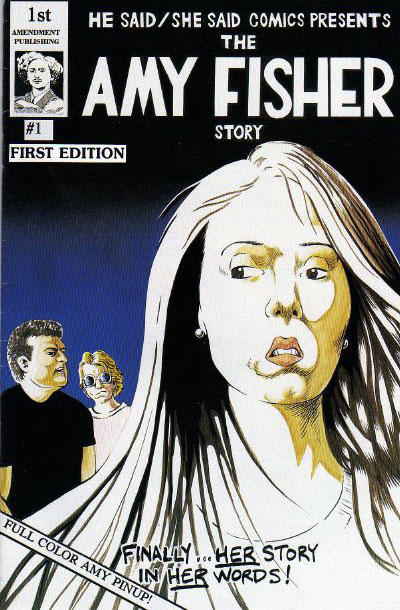 Cover for He Said/She Said Comics (First Amendment Publishing, 1993 series) #1