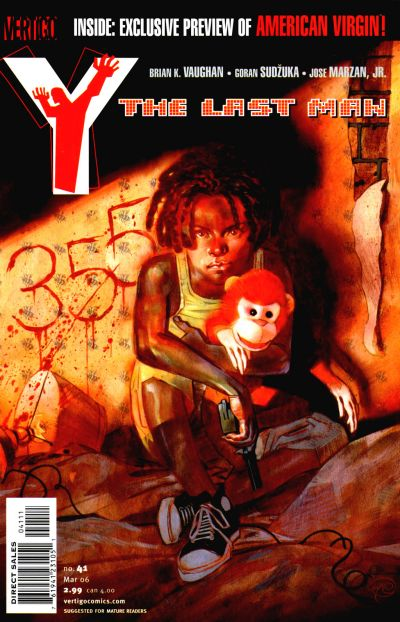 Cover for Y: The Last Man (DC, 2002 series) #41