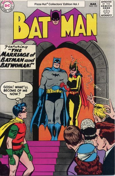 Cover for Batman #122 [Pizza Hut Collectors' Edition Vol. 1] (DC, 1977 series) #[nn]