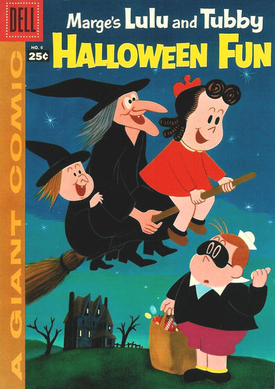Cover for Marge's Lulu and Tubby Halloween Fun (Dell, 1957 series) #6 [1]