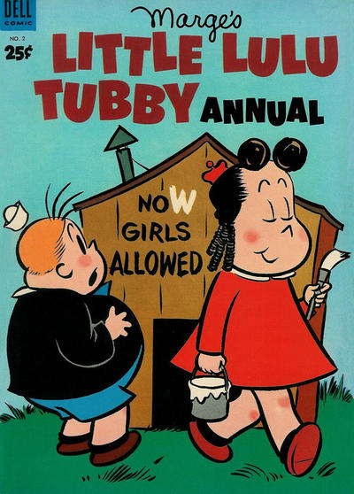 Cover for Marge's Little Lulu Tubby Annual (Dell, 1953 series) #2