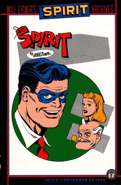 Cover for Will Eisner's The Spirit Archives (DC, 2000 series) #17