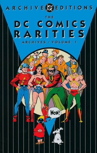 Cover for DC Comics Rarities Archives (DC, 2004 series) #1