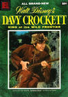 Cover for Walt Disney's Davy Crockett King of the Wild Frontier (Dell, 1955 series) #1