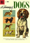 Cover for A Treasury of Dogs (Dell, 1956 series) #1