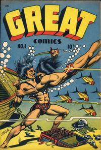 Cover Thumbnail for Great Comics (Novack Publishing Co., 1945 series) #1