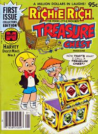 Cover Thumbnail for Richie Rich Treasure Chest Digest (Harvey, 1982 series) #1