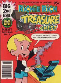 Cover Thumbnail for Richie Rich Treasure Chest Digest (Harvey, 1982 series) #2