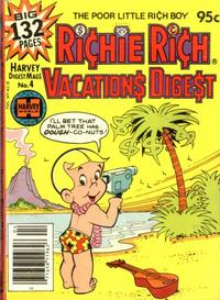 Cover Thumbnail for Richie Rich Vacations Digest (Harvey, 1977 series) #4