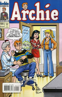 Cover Thumbnail for Archie (Archie, 1959 series) #561