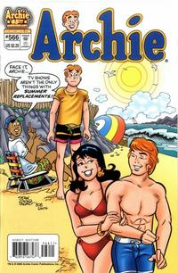 Cover for Archie (Archie, 1959 series) #566
