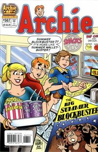 Cover Thumbnail for Archie (Archie, 1959 series) #567