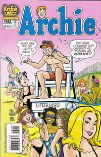 Cover Thumbnail for Archie (Archie, 1959 series) #568