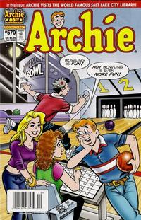 Cover Thumbnail for Archie (Archie, 1959 series) #570