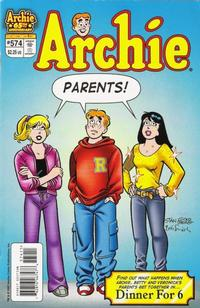 Cover Thumbnail for Archie (Archie, 1959 series) #574