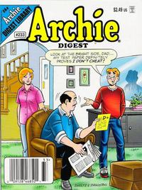 Cover Thumbnail for Archie Comics Digest (Archie, 1973 series) #233 [Newsstand]