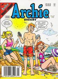 Cover Thumbnail for Archie Comics Digest (Archie, 1973 series) #235 [Newsstand]