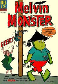 Cover Thumbnail for Melvin Monster (Dell, 1965 series) #3