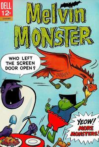 Cover Thumbnail for Melvin Monster (Dell, 1965 series) #4