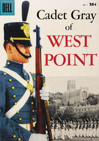 Cover Thumbnail for Cadet Gray of West Point (Dell, 1958 series) #1