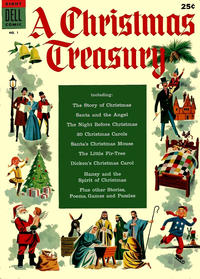 Cover Thumbnail for A Christmas Treasury (Dell, 1954 series) #1
