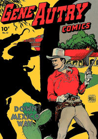 Cover Thumbnail for Gene Autry Comics (Dell, 1943 series) #12