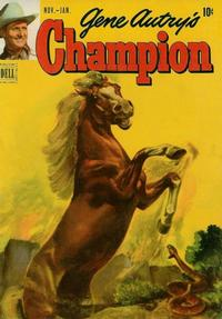 Cover Thumbnail for Gene Autry's Champion (Dell, 1951 series) #4