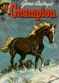 Cover Thumbnail for Gene Autry's Champion (Dell, 1951 series) #8
